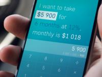 Daily Ui / Smart calculator
