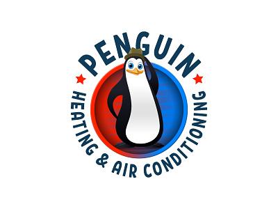Penguin AC logo branding