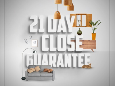 PERL Mortgage - 21 Day to Close Ads typography logo vector illustration design branding