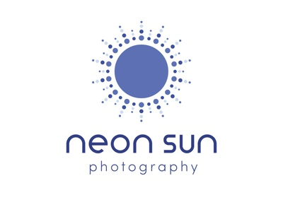 Neon Sun Photography - Branding illustration design logo branding