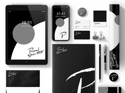 Personal Space MB - Branding Package logo illustration design branding