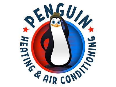 Penguin AC - Branding Package vector ui logo design illustration branding
