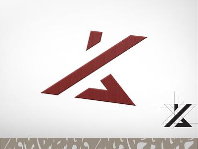 K & A Logo illustration font graphic design design wordmark logo typography lettermark branding flat minimal logo k  a aklogo kalogo