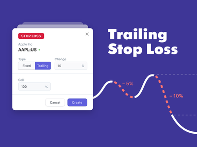 Trailing Stop Loss web finance fintech