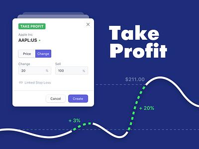 Take Profit finance fintech fin-tech