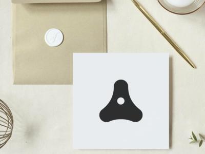 Playful 'A' Lettermark Design.