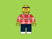Lego Developer / Hipster