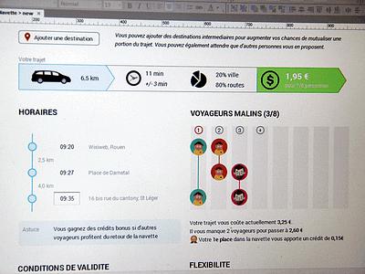 Shared Transport - Wireframe & Prototype webdesign ux ui prototype wireframe axure wixiweb interface webapp