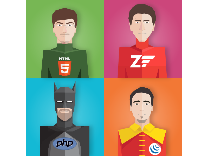 Superheroes - Wixiweb Team 2015 flat batman comics superhero wixiweb php character illustration heroes super hero