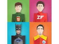 Superheroes - Wixiweb Team 2015