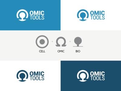 Omictools Logo Concept