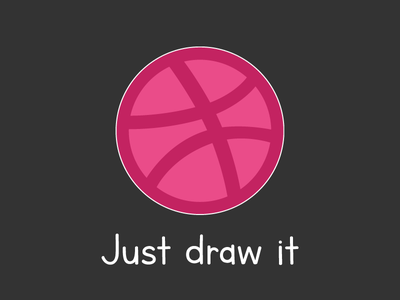 """Dribbble """"Just Draw It"""" for Playoff! Dribbble Sticker Pack playoff stickers illustrator nike dribbble"""
