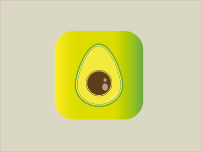 005 avocado design ux ui mobile logo illustrator dailyui005 005 dailyui