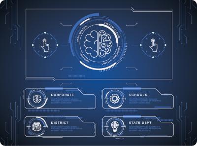 Virtuosity Technologies Brand Identity typography ui vector logo illustration design branding design branding brand identity brand design brand