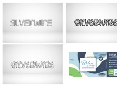 SILVERWIRE Brand Identity Concepts In-Progress ui vector logo illustration design branding design branding brand identity brand design brand