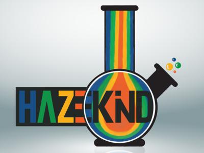 HAZEKIND Brand Full Logo Hand Drawn / Vector typography vector logo illustration design brand identity brand design brand branding design branding