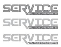 Service Motorsports Rough Draft Logo ui vector logo illustration design brand identity brand design brand branding design branding