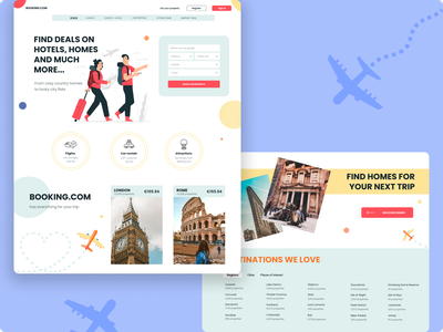 Landing for booking bookillustration booking figmadesign landing page uiux illustration mainpage ui figma design