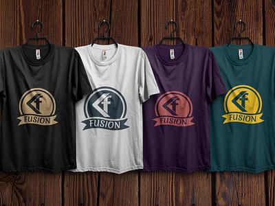 f based design web logo branding icon illustration logo design illustrator design t shirt t shirt design