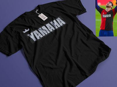 YAMAHA SIMPLE TSHIRT DESIGN branding icon vector illustrator illustration logo logo design design t shirt t shirt design