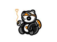 Love Hunter Sleeping Panda