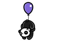 Baloon Sleeping Panda