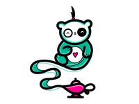 Genie Sleeping Panda