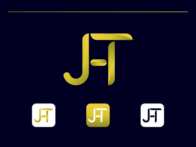 Letter Mark Logo | J + H + T design logo design logos brand logo branding logodesigner