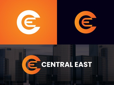 Central East Logo Concept logo design free branding advertisment logo creator logos logo design design logodesigner brand logo