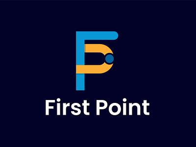 First Point Logo logo concept brand identity logo maker branding design logos logodesigner presentation brand logo