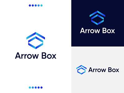 Arrow Box Logo logo artist logo designs arrow box logo logo concept logo folio logo maker brand logos logodesigner logo idea logo design branding logo