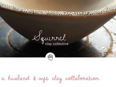 Squirrel Clay Collective Landing Page