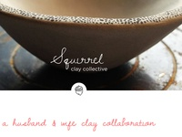 Squirrel Clay Collective Landing Page