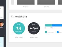 Dashboard - Progress Page