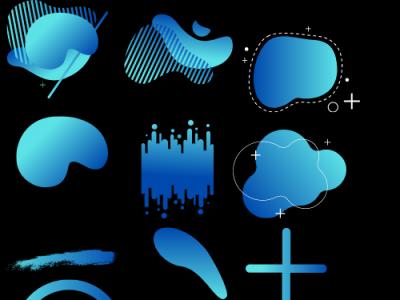 Degraded 1 website ui illustration art web ux app logo icon design