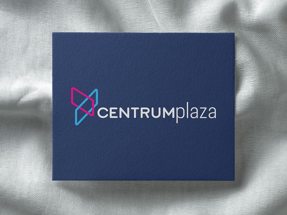 Centrum Plaza typography vector design emblem logodesign logo rebranding branding