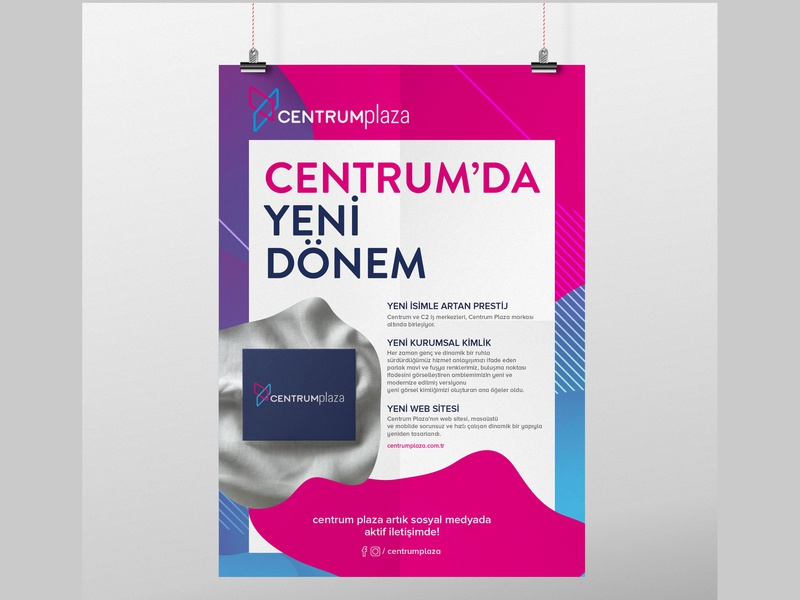 Poster Design for Centrum Plaza design poster design poster
