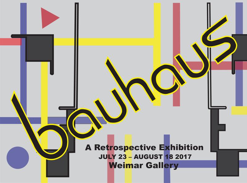 Bauhaus branding typography
