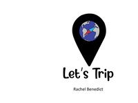 Let's Trip app adobe xd illustration