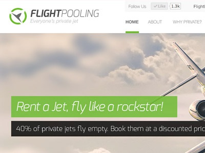 Flightpooling Restyling flightpooling restyling jet home menu navigation overlay green logo exo