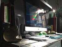 Beautiful light on my desk