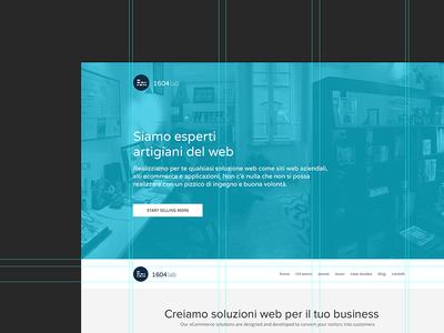1604lab: HomePage Website Design