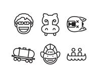 #yycflood Icons