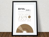 Diva/Juno Awards Poster