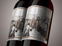 Contrada Wine Label