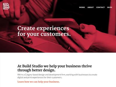 Build Studio Website