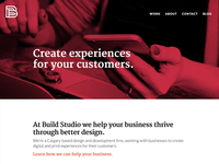 Build Studio Website
