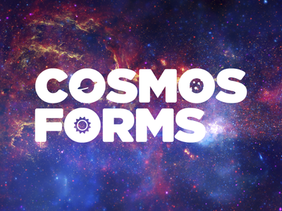 Cosmos Forms Scrapped Logo