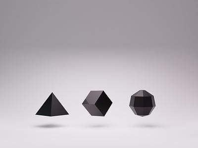 Visual brand explorations shapes brand blender3d 3d 3d animation blender shaders
