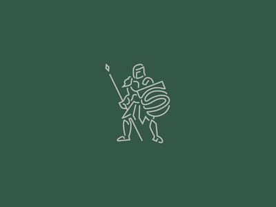 Skincare knight skincare armor shield icon soap linework vector knight